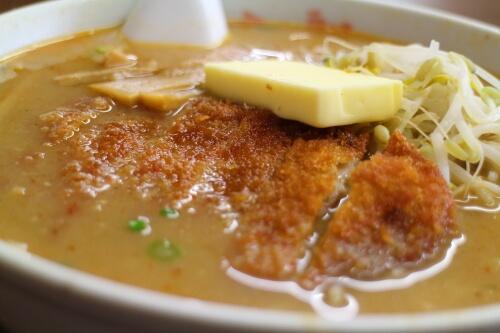 豚太郎春野店 味噌カツラーメン