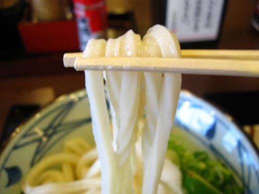 丸亀製麺 醤油並アップ