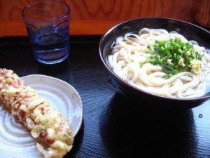 丸亀製麺高知店 かけうどん&おろし醤油うどん