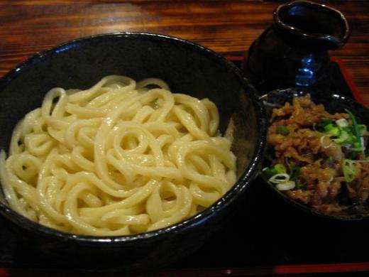 さかえ ぶっかけ(温) with肉