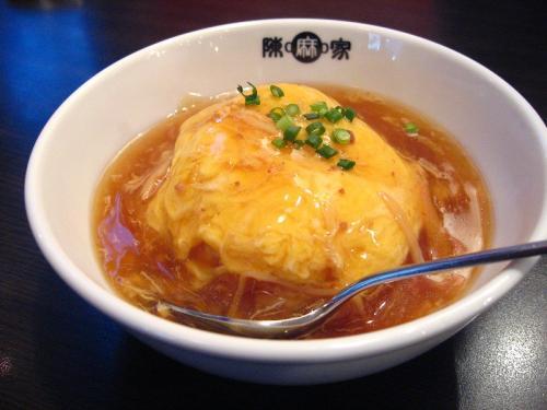 陳麻家 天津飯(ハーフ)