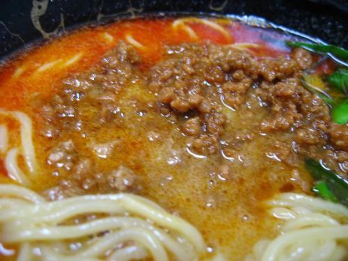 中華そば楽 担々麺 肉アップ