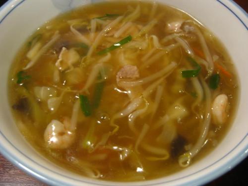 中国家常菜 鳳龍菜館 ちゃんぽん麺