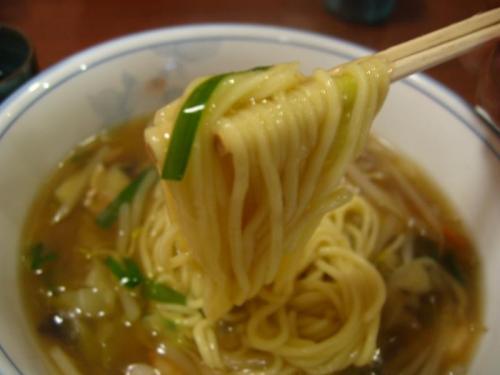 中国家常菜 鳳龍菜館 ちゃんぽん麺 アップ