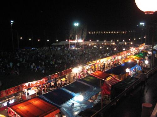 奥物部湖湖水祭 会場3