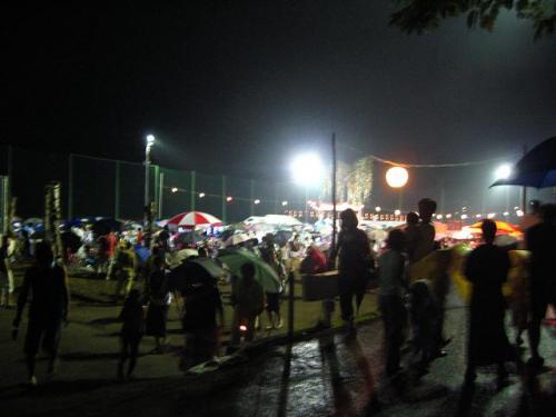 奥物部湖湖水祭 会場2