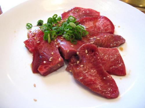 焼肉大門 焼タン(タレ焼)