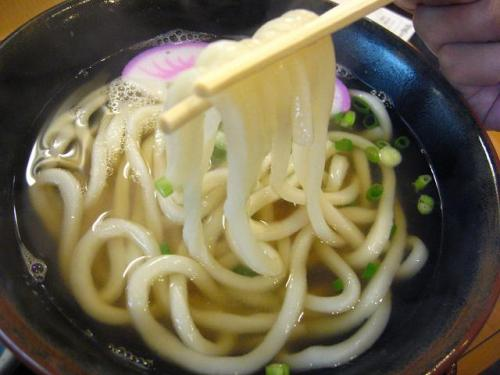 ビックうどん土佐山田店 うどん 麺アップ