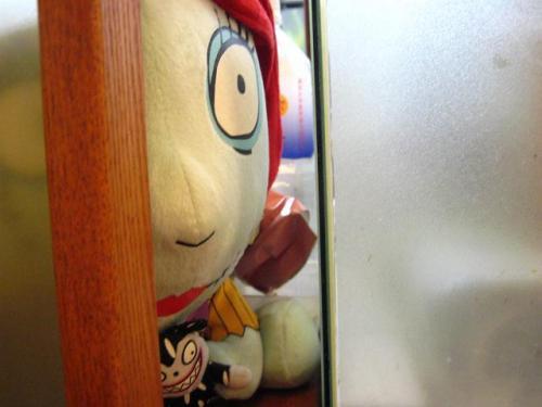 ビックうどん土佐山田店 ホラー人形!!