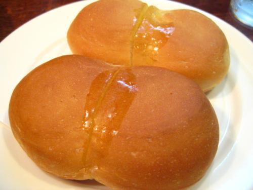 北欧館 チキンソテー柚子風味 パン