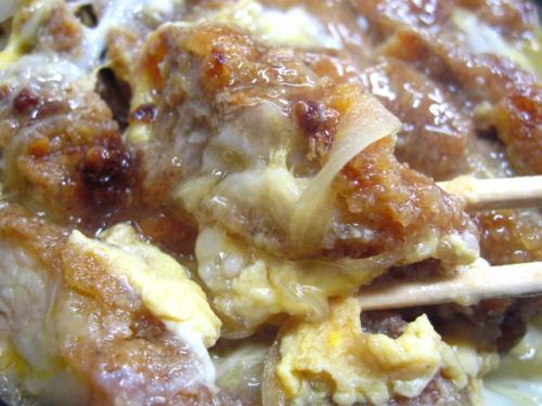 ひばり食堂 カツ丼 カツアップ2