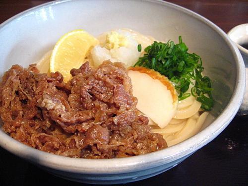 麺鄙屋 肉ぶっかけ(大盛)