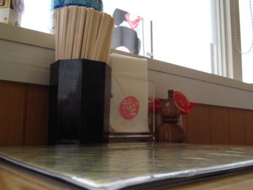 つるしこ麺家福いち 店内