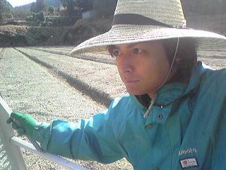 ある日の農家ファッション