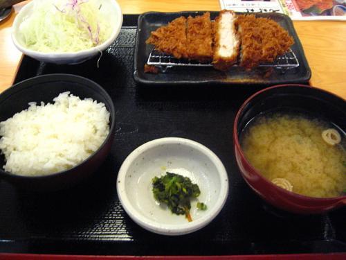 かつ処季の屋 ロースかつ膳(中)