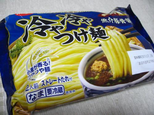 日清 冷や冷やつけ麺 魚介豚骨醤油