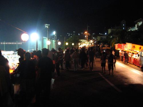 奥物部湖湖水祭2011 後編/熱狂の物部とタヌキ