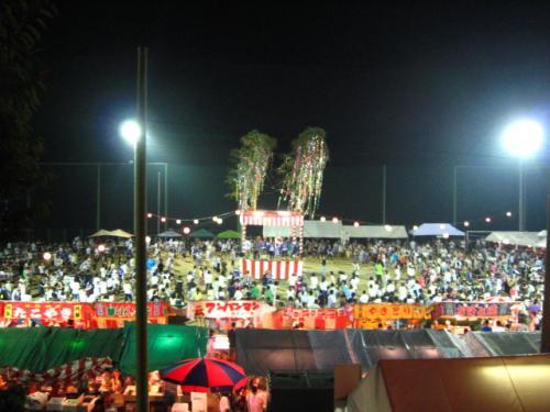 奥物部湖湖水祭2011 会場5