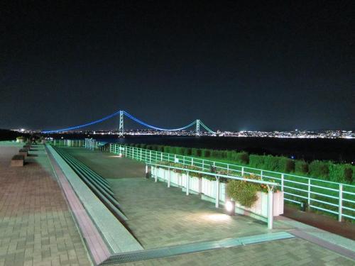淡路島SA 明石海峡大橋