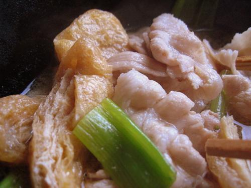 手打うどん吉川 武蔵野風肉汁うどん(つけ麺)大 つけ汁アップ