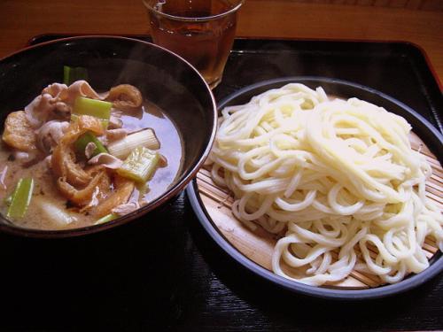 手打うどん吉川 武蔵野風肉汁うどん(つけ麺)大