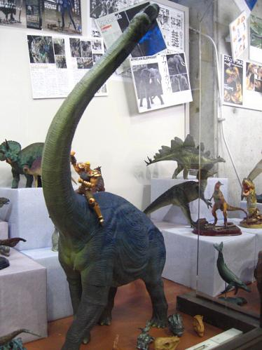 海洋堂ホビー館四万十 恐竜