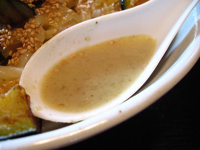 手打ちうどんとがの藤家 タイカレー スープ