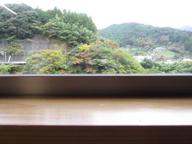釜揚げうどん遊 窓から見た景色