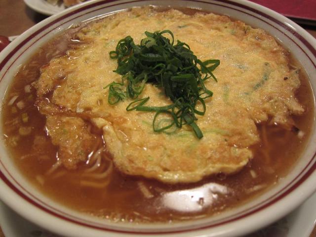 中華料理鳳来 天津メン(大盛)