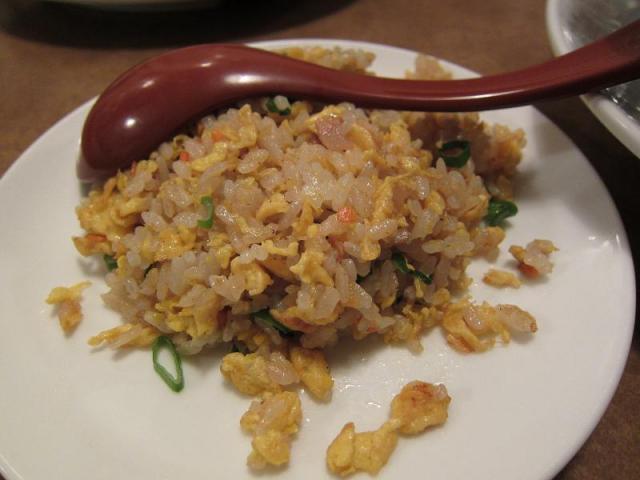 中華料理鳳来 半チャーハン