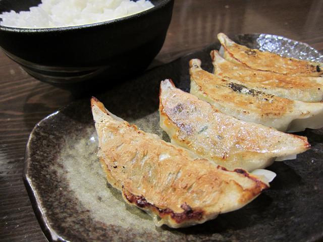 麺屋・國丸。南国店 餃子とライス(小)セット