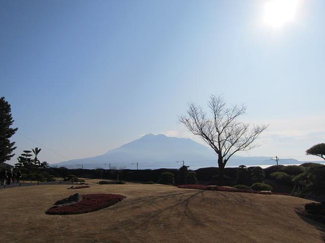 2日目!名勝 仙厳園!からも見える桜島!