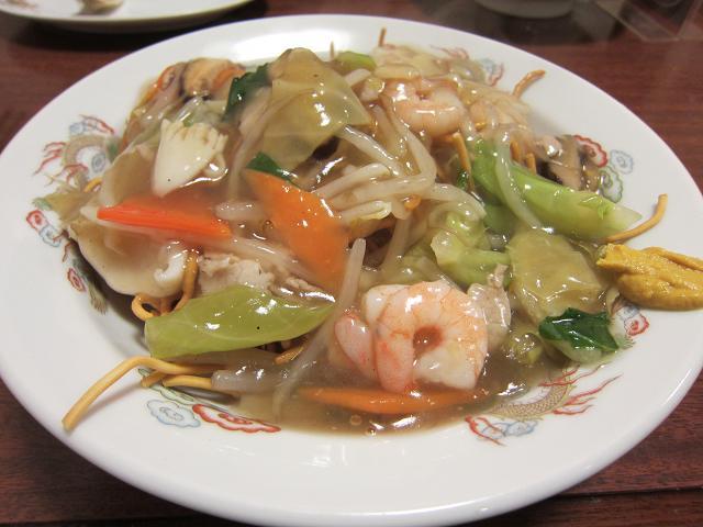 中国家常菜 鳳龍菜館 フライ麺
