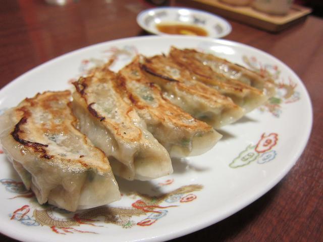 中国家常菜 鳳龍菜館 焼ギョウザ