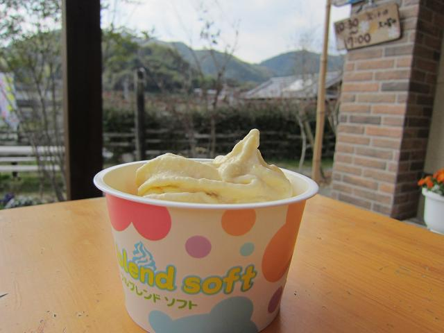 岡崎牧場 マンゴーソフトクリーム!
