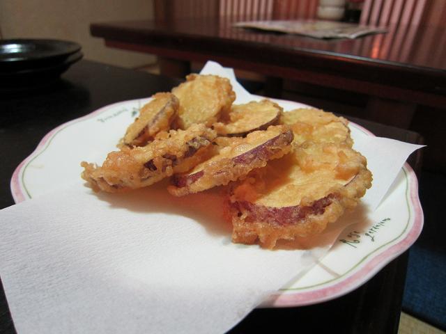 晶栄寿司 サツマイモ天