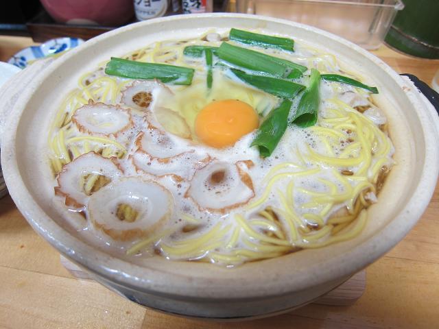鍋焼きラーメン千秋>