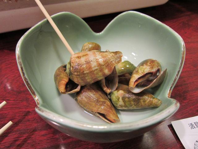 活貝・海老料理 満潮(みちしお) チャンバラ貝