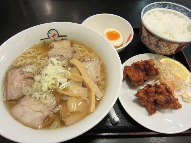 喜多方ラーメン坂内 小法師 六泉寺店 満腹A定食