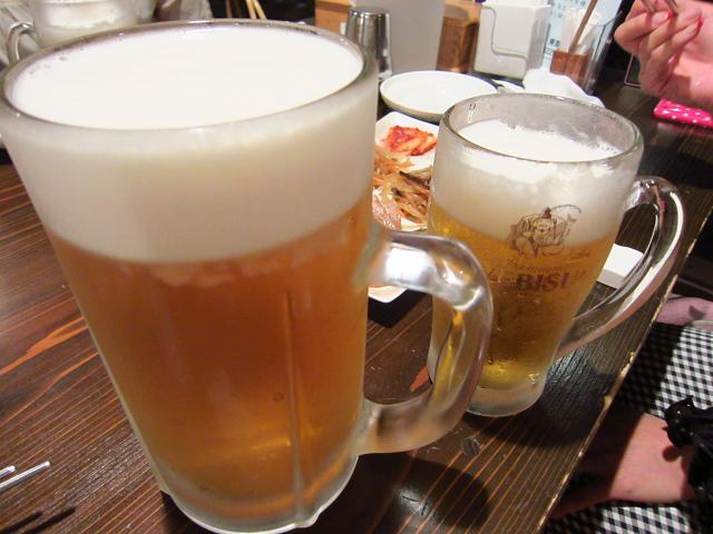 景福宮本店 1リットルビール!
