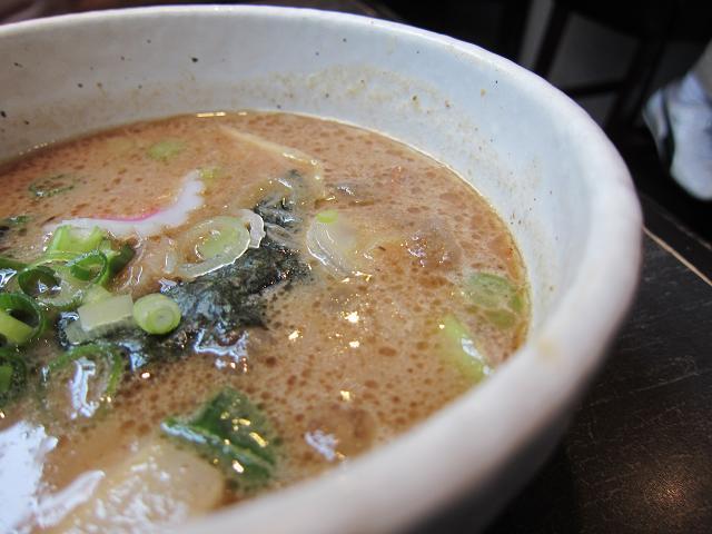 つけ麺屋ちっちょ 牛ホルモンのつけ麺(特盛) スープアップ