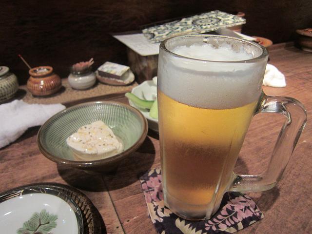 焼鳥まろばし 生ビール