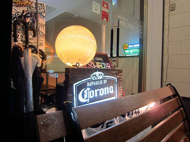 cafe bar SHELTER