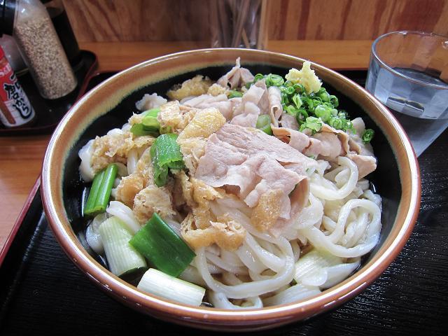 手打うどん吉川 武蔵野風肉汁うどん・ぶっかけスタイル(特大)