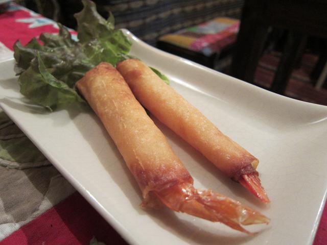 cafe Chang(カフェ・チャン) 海老揚げ春巻き