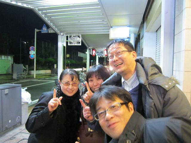 水曜会inシェルター お母さんと菅野さんと八木さんと中村DBさん!