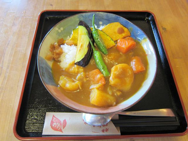 道の駅とおわ 野菜たっぷり5656カレー
