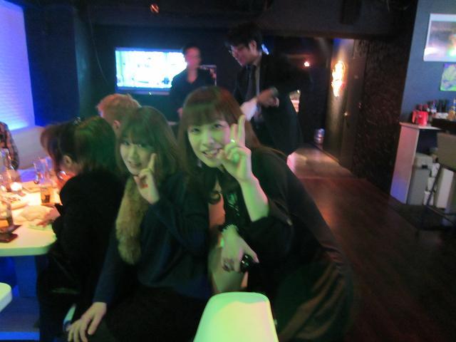 水曜会!新年会!3次会! 小松さんとサリーさん
