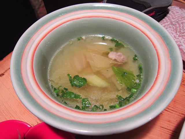 Asian Dining Chang スープ