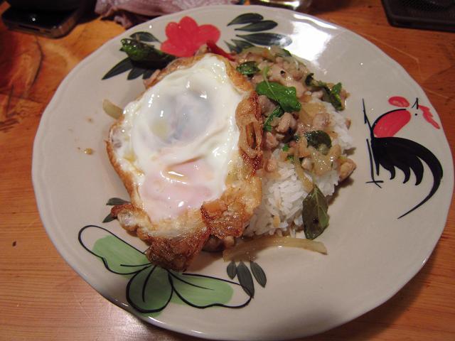Asian Dining Chang 鶏肉のタイハーブ炒めごはん